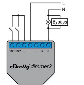 Shelly dimmer2 be nulinio laido schema